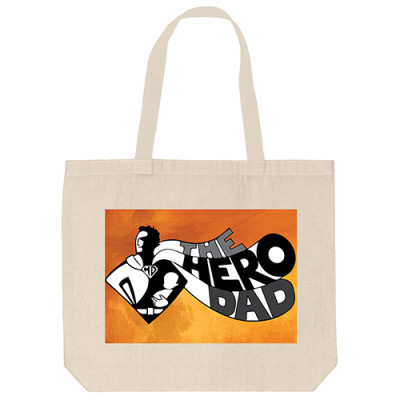 Tote Bags - Hero Dad